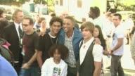 Trey Smith Will Smith and Jaden Smith and Zac Efron at the 2008 Teen Choice Awards at Los Angeles CA