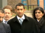 Trial of men accused of attempted bombings on 21st July 2005 Court arrivals ENGLAND London Woolwich Crown Court EXT Various of Adel Yahya along with...