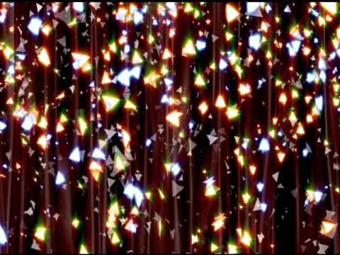 Triangle Glitter Curtain