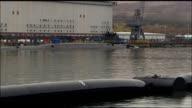 HMS Vigilant HMS Vigilant docked in naval base