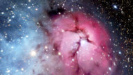 Trifid nebula (M20), optical image.