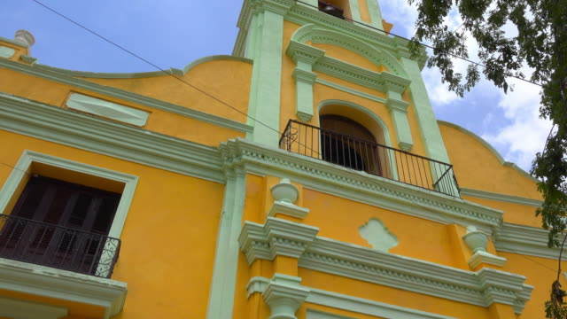 Trinidad, Cuba: Old former church building in the main plaza of the colonial town