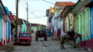 Trinidad , Cuba - Street Scene