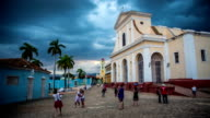 Trinidad main square , Cuba