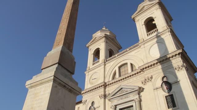 Trinità dei Monti Church and Obelisk