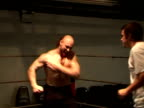 Triple H John Cane Jeff Hardy Ð the big names of American professional wrestling inspire young wrestlers during boneshaking workouts in the ring...