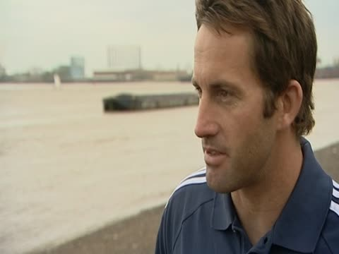 Triple Olympic gold medallist Ben Ainslie talks about getting prepared for London 2012