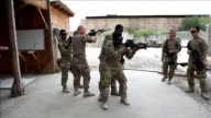 US troops provide training and tactical advice to the 201st Afghan army corps as they take on the Taliban on the battlefield