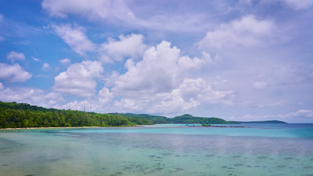 Tropical beach and turquoise sea