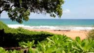 Tropischen Strand-Landschaft, Hawaii