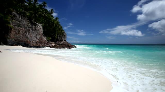 Tropical beach, Seychelles, Indian Ocean