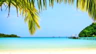 Tropischen Strand.