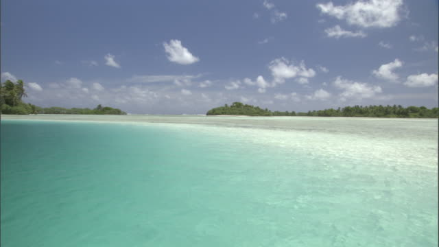 Tropical coast and sea, Palmyra Atoll, USA