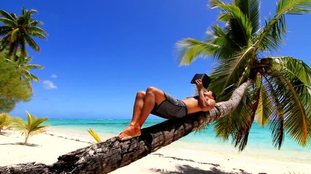 Tropical island relaxing