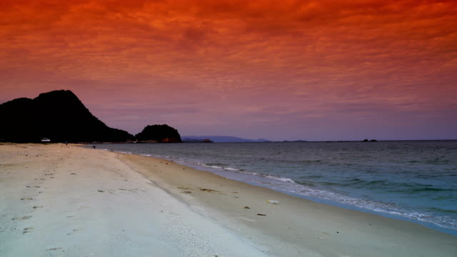 Tropiska lagunen i Krabi, Thailand