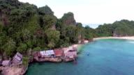 Tropical paradise island, Chumpon, Thailand