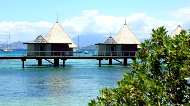 Tropical Paradise Luxury Over Water Bungalow Resort
