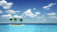 Tropical small island
