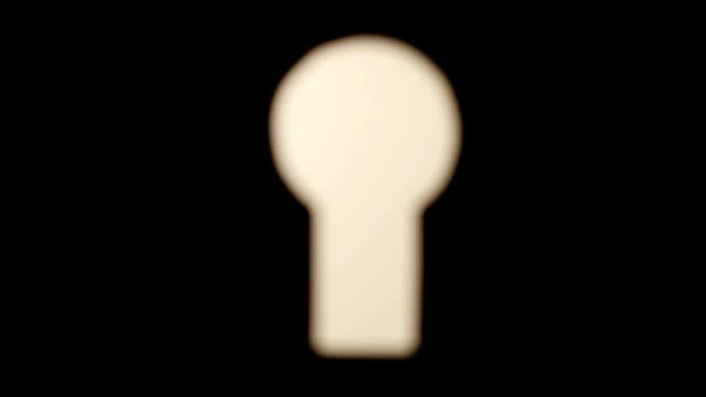 Trough the keyhole