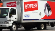 Truck turning in corner Staples Canada Inc is a Canadian office supply retail chain part of the United Statesbased office supply company Staples Inc