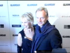Trudie Styler and Sting at the Glamour Magazine 'Reel Moments' Short Film Series World Premiere at US Union Square Stadium 14 in New York New York on...