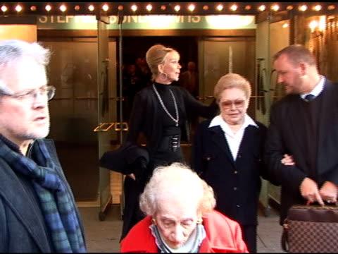 Trudie Styler at Natasha Richardson's Memorial at Studio 54 in New York at the Celebrity Sightings in New York at New York NY