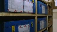 ECU ZO Trunk in Doctors without borders storage room / Juba, Central Equatoria, Sudan