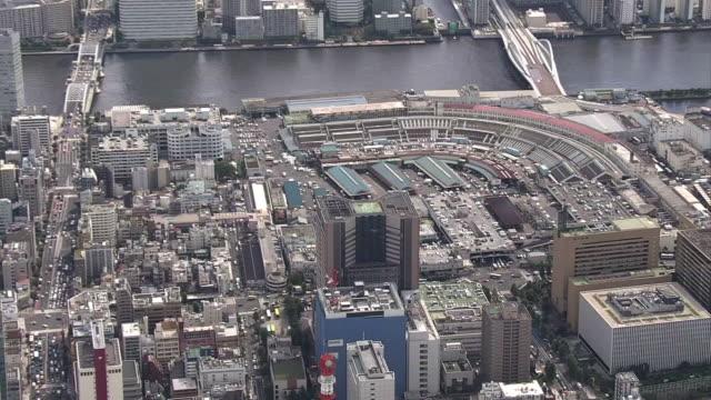 AERIAL, Tsukiji Fish Market, Tokyo