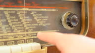 Einstellen einer alten radio