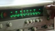 Tuning into Radio station