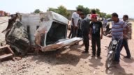 Tunisian passenger train smashed into a semitrailer truck southwest of the capital early Tuesday morning killing 17 people and injuring a further 70...