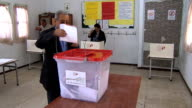 Tunisians have been lining up to vote to choose a new parliament in the elections seen as a test of the country's transition to democracy 00 GMT on...