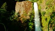 Tunnel falls on Eagle Creek Columbia River Gorge Oregon Waterfalls 38