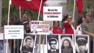 KTLA Turkey Consulate And March On Anniversary of Armenian Genocide Thousands March From Hollywood to Turkish Consulate on Anniversary of 1915...