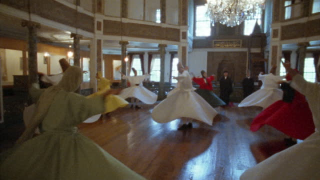 MS, PAN, Turkey, Istanbul, Whirling Dervishes