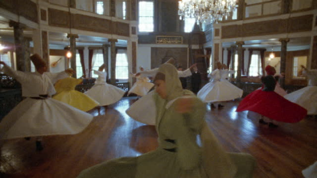 MS, Turkey, Istanbul, Whirling Dervishes