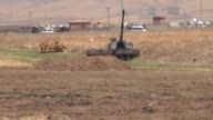 Turkey launches military exercises in the Silopi and Habur areas on the Iraqi border on September 19 2017 in Sirnak Turkey The manoeuvers come a week...