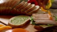 Sandwich di tacchino