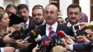 Turkey will attack the PKK/PYD in Manbij northern Syria 'unless the group withdraws' Turkish foreign minister said Thursday Speaking to journalists...