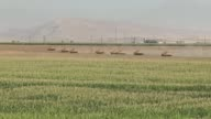 Turkish Armed Forces continue their military exercises on its sixth day in the Silopi and Habur areas on the Iraqi border on September 23 2017 in...