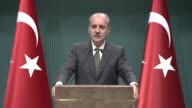 Turkish Deputy Prime Minister Numan Kurtulmus criticized the decision to close the AlAqsa mosque to worship saying that it is a crime against...