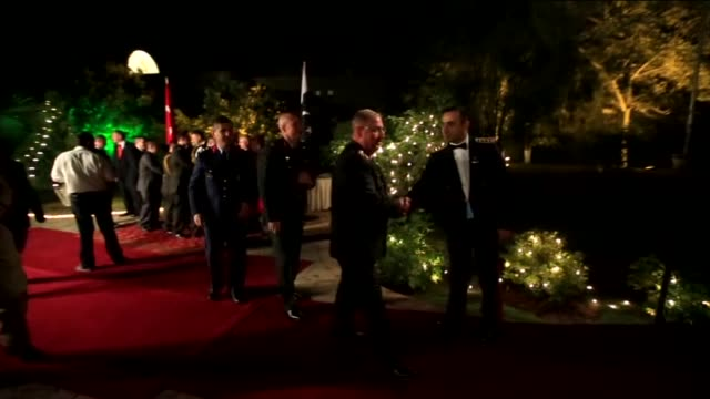Turkish Embassy in Islamabad holds a reception to celebrate 29 Ekim Republic Day in Islamabad Pakistan on 24 October 2014 Pakistan Military Band...