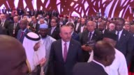 Turkish Foreign Minister Mevlut Cavusoglu attends 44th meeting of Council of Foreign Ministers of Organization of Islamic Cooperation in Abidjan...