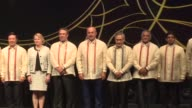 Turkish Foreign Minister Mevlut Cavusoglu attends a gala dinner hosted by Foreign Minister of Philippines Alan Peter Cayetano within the Association...