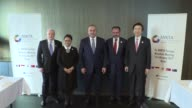 Turkish Foreign Minister Mevlut Cavusoglu Indonesian Foreign Minister Retno Marsudi Mexican Foreign Minister Luis Videgaray South Korean Foreign...