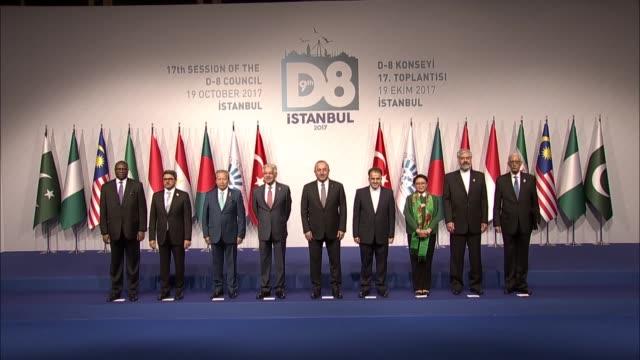 Turkish Foreign Minister Mevlut Cavusoglu Pakistani Foreign Minister Khawaja Muhammad Asif Malaysian Foreign Minister Dato Sri Anifah Aman Indonesian...