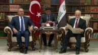 Turkish Foreign Minister Mevlut Cavusoglu was in Iraq on Wednesday to warn Iraqi and Kurdish leaders against next month's independence referendum in...