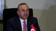Turkish Foreign Minister Mevlut Cavusoglu Wednesday urged the international community to show sensitivity over the plight of Rohingya Muslims in...