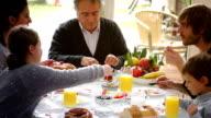 Türkische Generation Frühstück für Familien