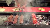 Turkish kebap in Restaurant